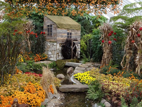 Phipps Conservatory: miniature reproduction