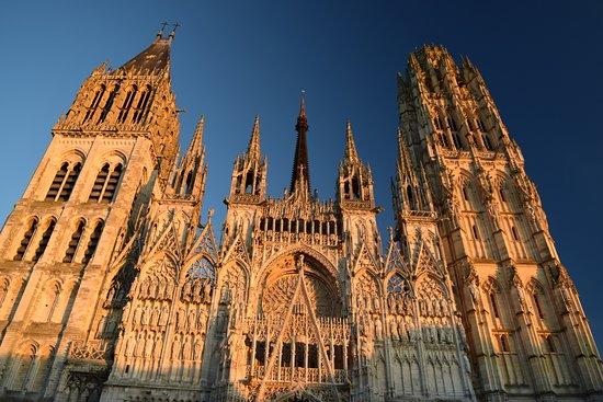 Cathedrale Notre-Dame de Rouen: la facciata