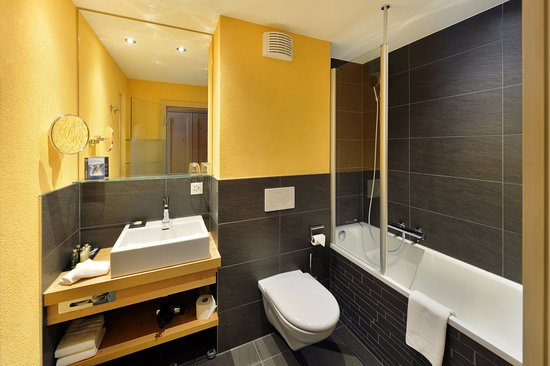 Hotel Eiger Grindelwald: Bath twin room Lifestyle