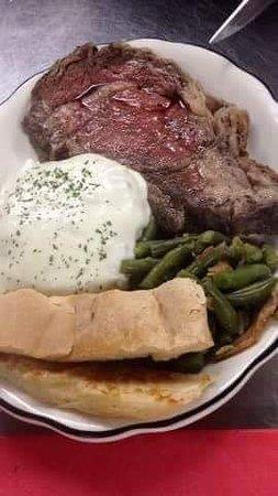 Jordan Valley, Oregón: Prime Rib Dinner