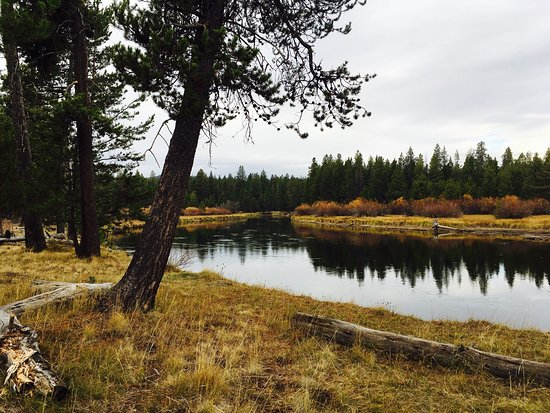 Sunriver, Oregón: Beautiful views on endless mikes of trails