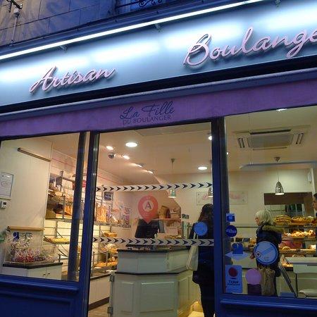 Photo of Restaurant La Fille du Boulanger at 38 Rue Des Batignolles, Paris 75017, France