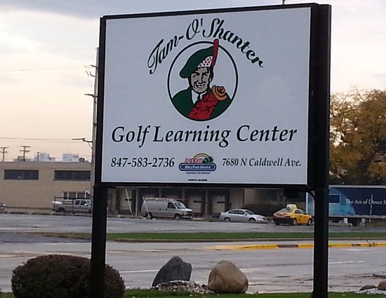 Niles, IL: Signage for Tam O'Shanter Golf Learning Center