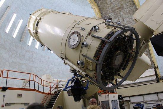 McDonald Observatory: Wonder presentation of the Telescope movement
