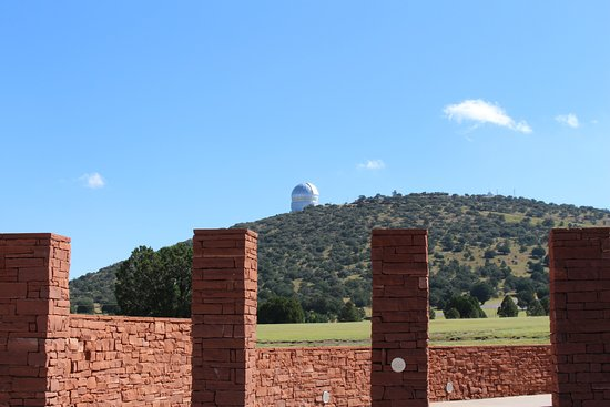 McDonald Observatory: Observatory as seen from the Frank N Bash Visitors Center