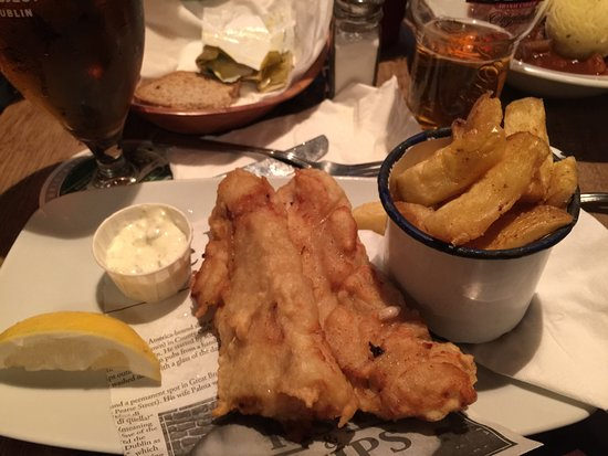 The Brazen Head: Fish and Chips