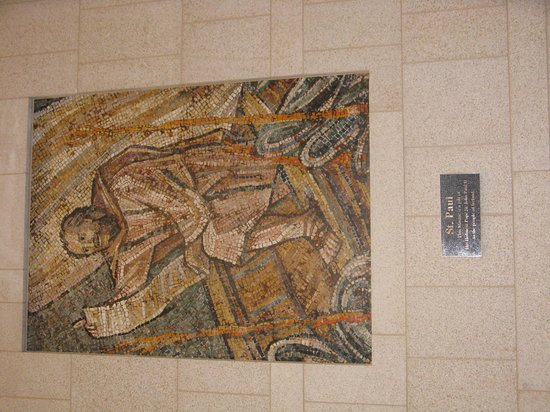 St. Paul _ Mosaic _ Knock _ given by Pope John Paul 11 1979