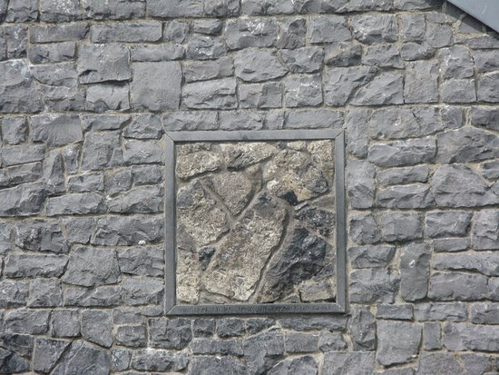 Stone from original Shrine _ Knock