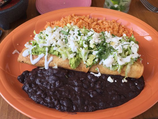 Bethel, CT: Quesadilla with Rice & Beans