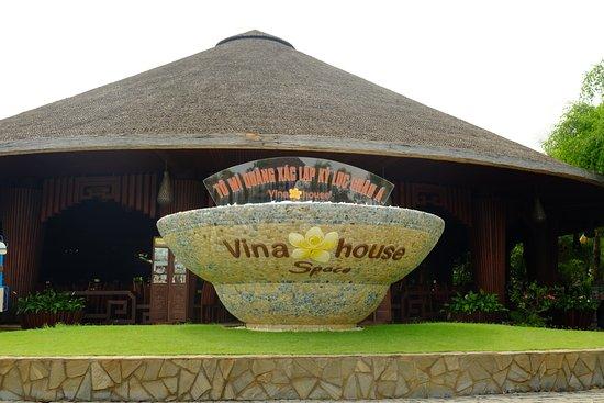 Провинция Куангнам, Вьетнам: Entrance to the restaurant