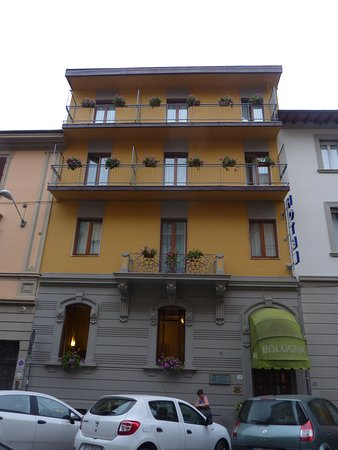 Façade of the hotel Bologna