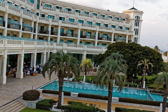Hotel Las Arenas Balneario Resort: Blick Auf Die Wasserspiele