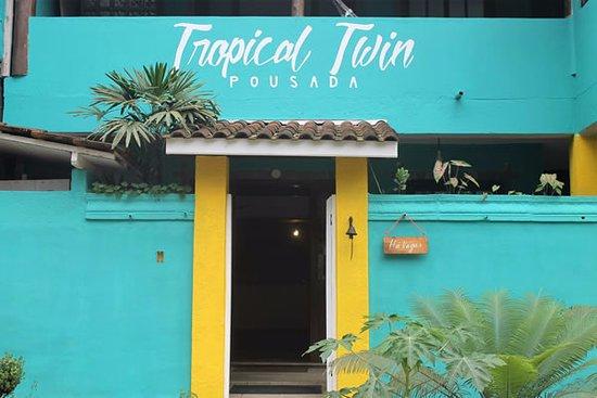 Pousada Tropical Twin: Nossa entrada.