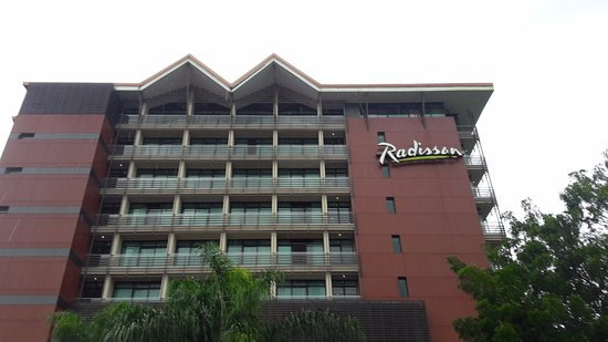 Radisson Summit Hotel And Golf: This is the hotel.