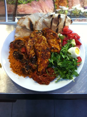 San Gwann, Malta: Spicy Chicken Breast
