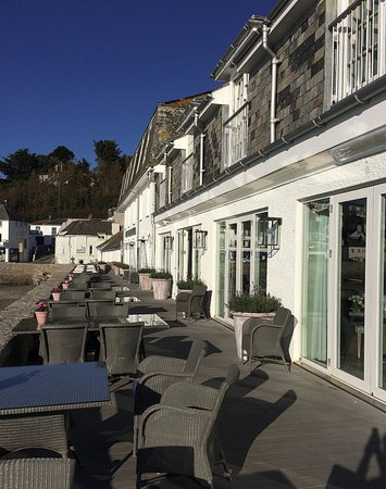 St Mawes, UK: A suntrap in summer and even quite pleasant on a sunny day in November.