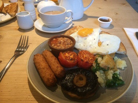 Wye, UK: The veggie breakfast is top notch. Thank you chef.