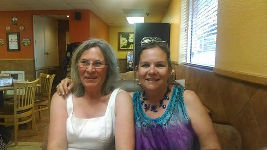 Alice, TX: Me and my mom a couple yrs ago at our fave Mexican restaurant!