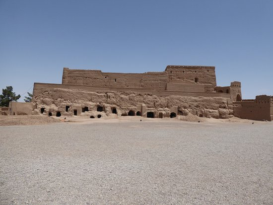 Meybod, Iran: A photo of this thousands year old castle