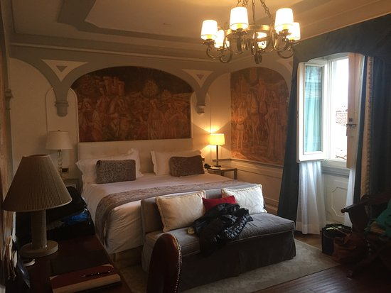 The St. Regis Florence: Kinda makes you feel like you are staying in one of these period palazzos, but more comfortable!