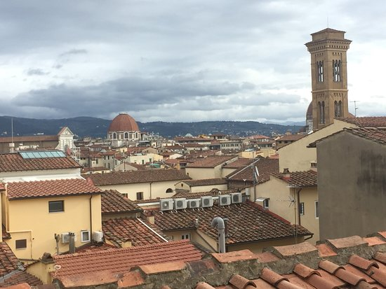 The St. Regis Florence: view of the city from room 512
