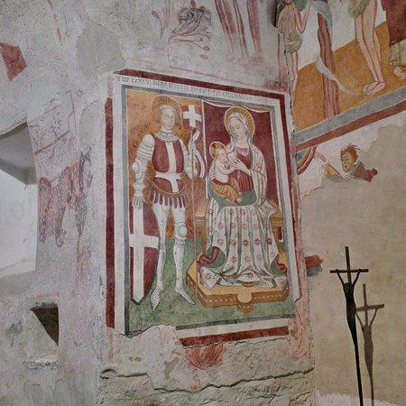 Roccaforte Mondovi, Italia: Affresco navata centrale
