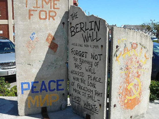 DiMillo's Old Port Marina: A Real Piece of the Berlin Wall
