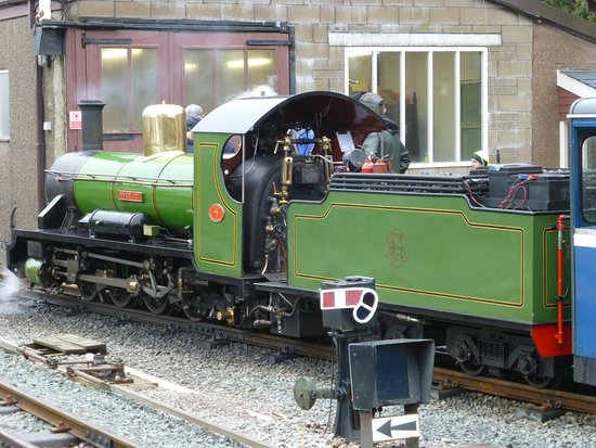 Ravenglass, UK: Superb example of the locomotives
