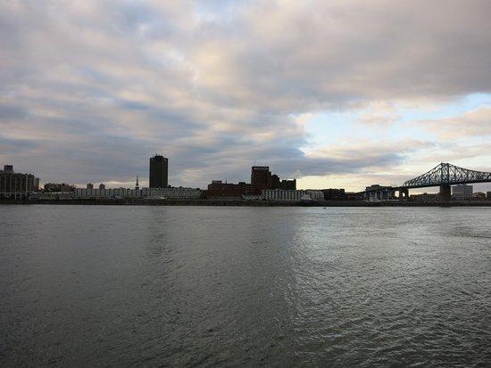 Montreal, Kanada: Fleuve le saint laurent