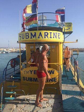 Yellow Submarine Boat Trip: photo2.jpg