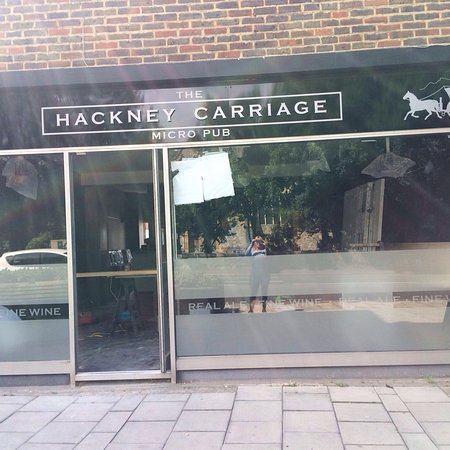 Sidcup, UK: The Hackney Carriage Micropub