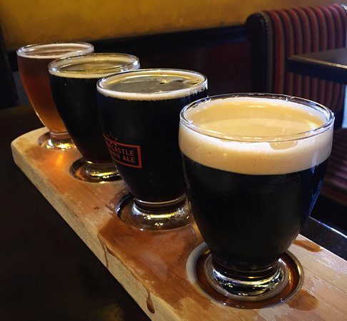 El Dorado Hills, Californie : Beer flight