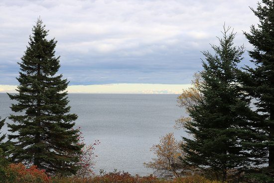 Schroeder, Миннесота: Lake Superior from our cabin