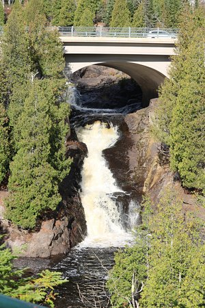 Schroeder, MN: Falls right next door
