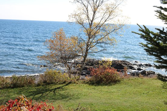 Schroeder, มินนิโซตา: Another view of Lake Superior from our cabin