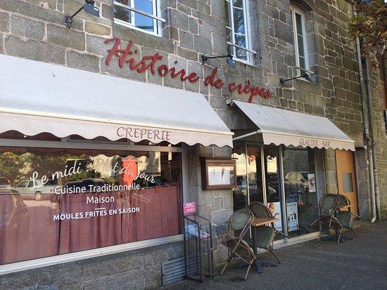 Questembert, Frankrike: La façade ne paie pas de mine mais on y mange très bien !