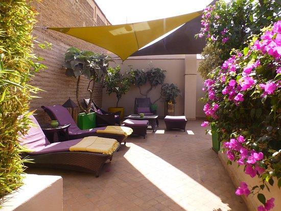 Riad Idra: Another terrace corner