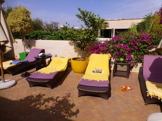 Riad Idra: Sunbathing