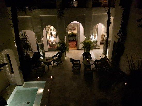 Riad Idra: Magical evening lights