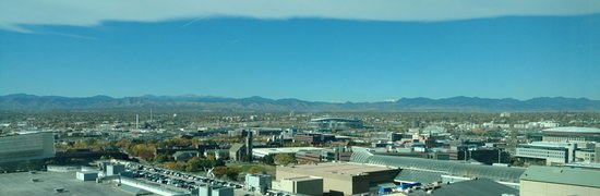 Embassy Suites by Hilton Denver - Downtown / Convention Center: View from room 1525
