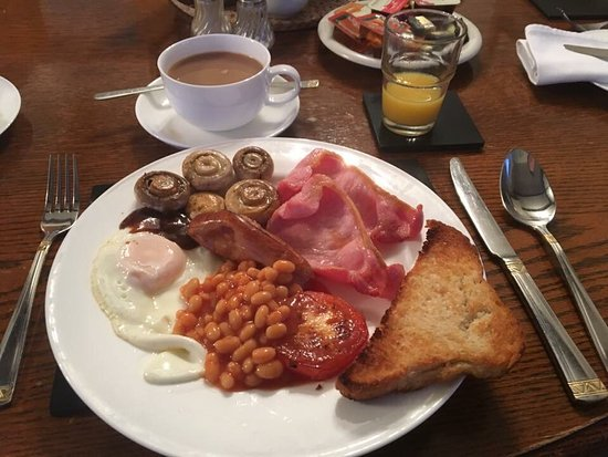 Llanwern, UK: Fantastic cooked breakfast.