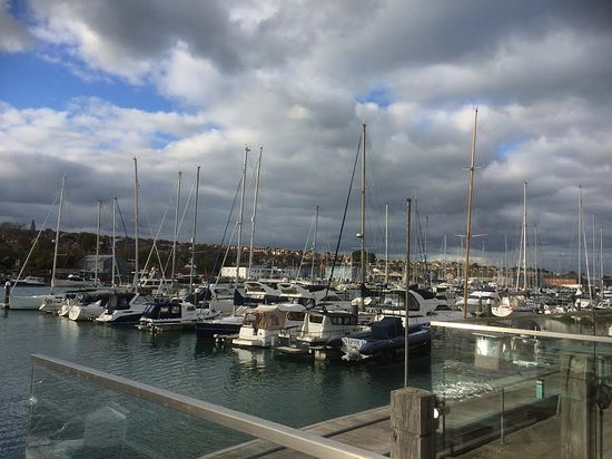 The Lifeboat: View of yachts