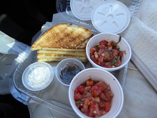 Katerina's Greek Cuisine: Katerina's Bruschetta