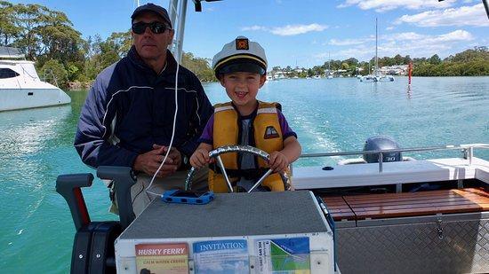 Huskisson, Australia: The two captains