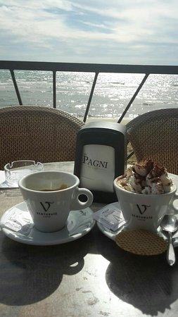 Caffè con panna - Picture of Terrazza bar gelateria pagni ...
