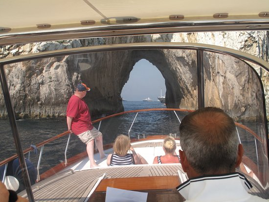 Hotel Margherita: Boat trip to Capri
