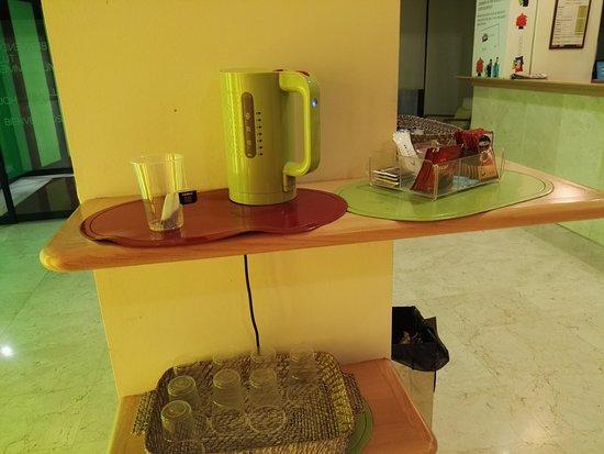 Hotel Ibis Styles Ramiro I : Detalle para los clientes en el Hall