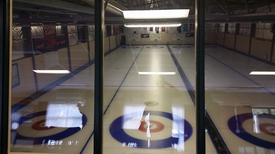 Naseby, New Zealand: Naesby curling rink