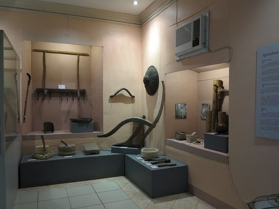 Bohol National Museum: agriculture and fishing in Bohol