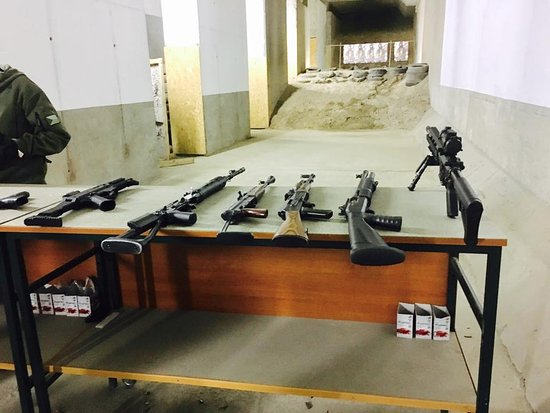 Outback Prague Shooting Range
